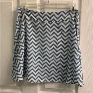 Francesca Chevron Skirt